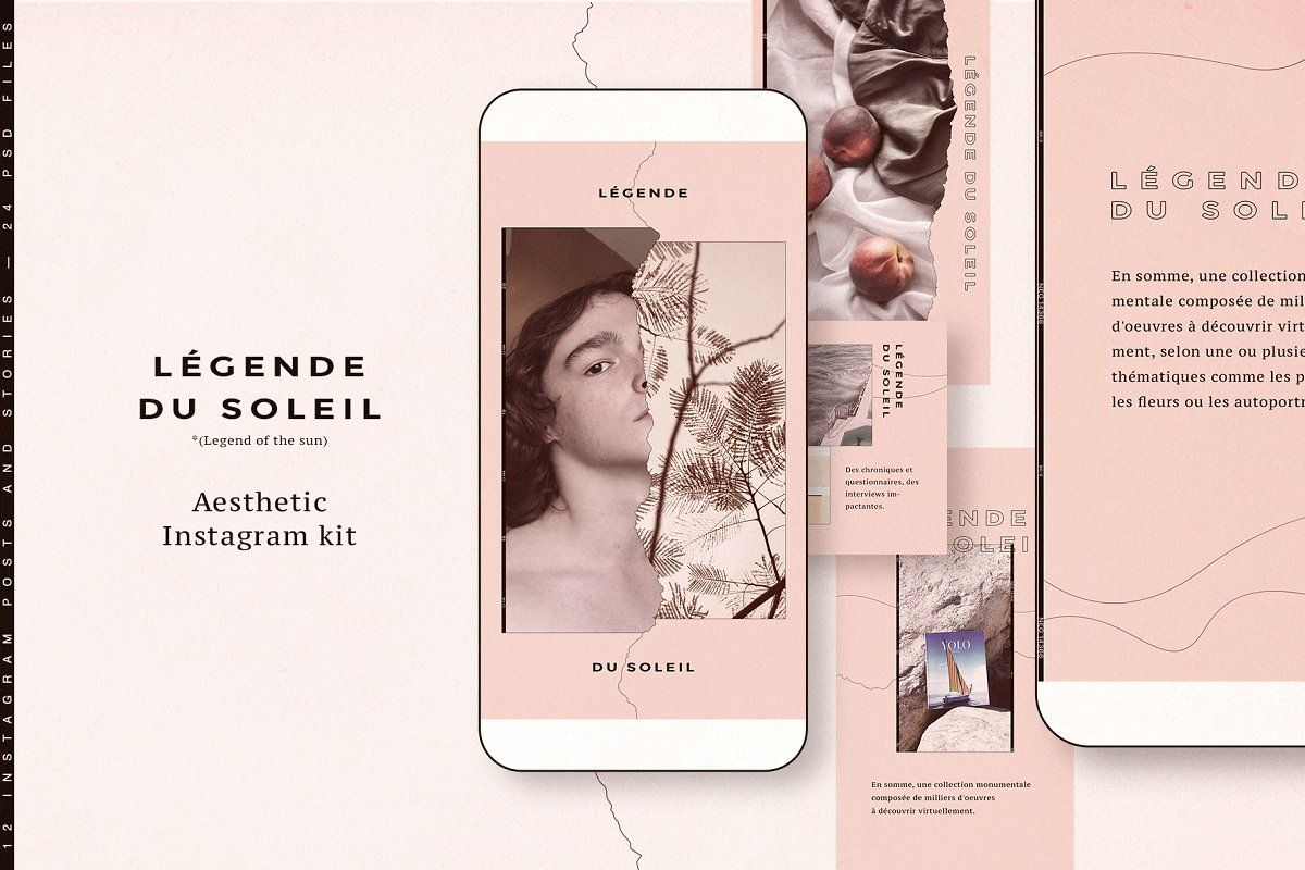 Instagram puzzle and stories CANVA in 2020 Instagram