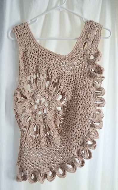 Lace Tank Top Plus Size Pattern By Guchet Crochet Lace Crochet