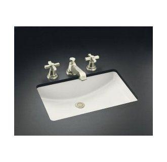 Kohler K 2215 0 White Ladena 23 1 4 Undermount Bathroom Sink With Overflow Undermount Bathroom Sink Bathroom Sink Lavatory Sink