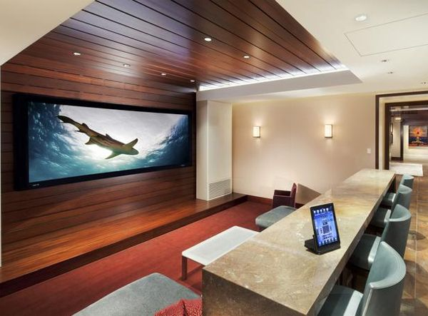 Interior Design For Home Theatre Minimalist Minimalisthometheaterdesignfromcedia  Theaters  For Homes .