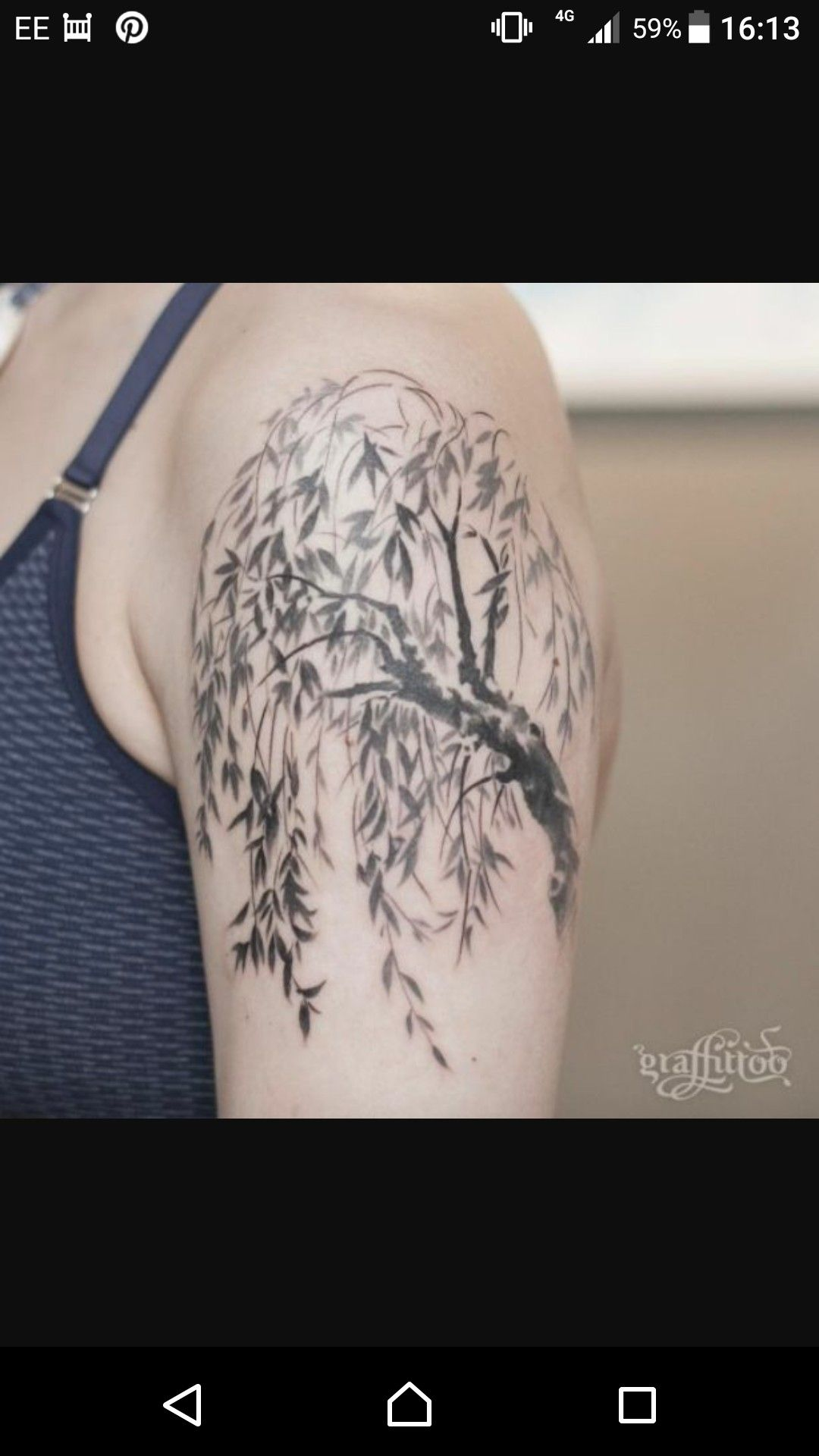 Pin by Emma Williams on Birds Willow tree tattoos
