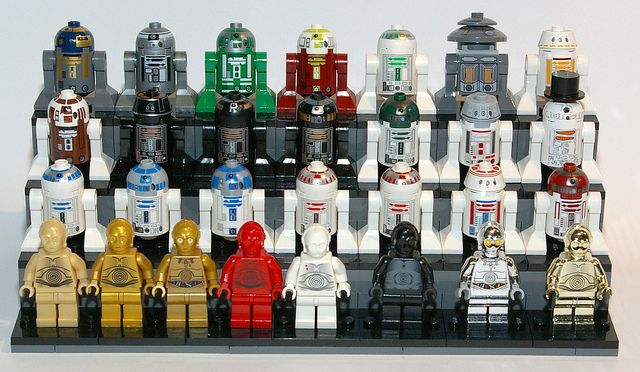 Astromech and Protocol Droids | LEGO Star Wars | Pinterest | Lego ...