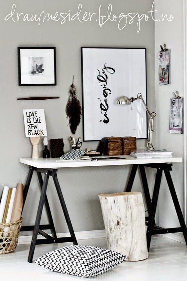 Ideas deco crea tu oficina en casa id es pour la maison for Deco oficina