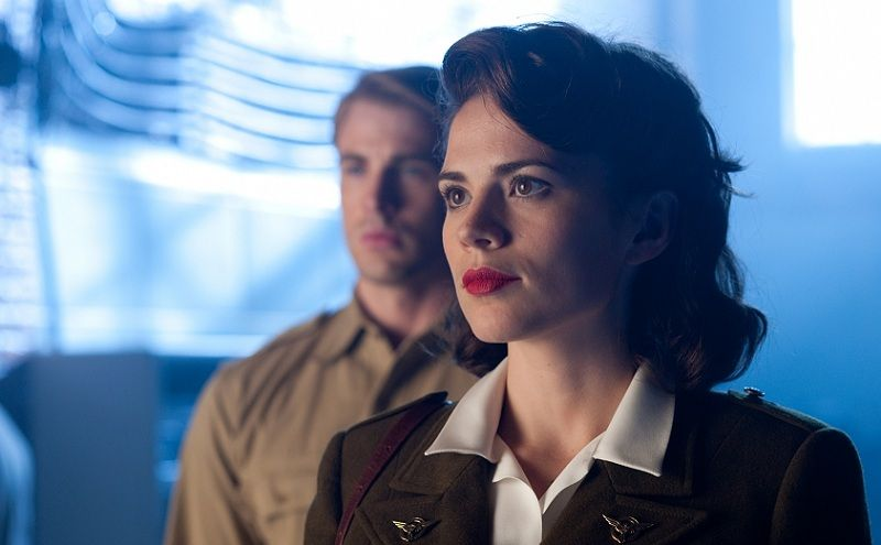 PEGGY CARTER – WHY CAPTAIN AMERICA WORKS | Hayley atwell ...