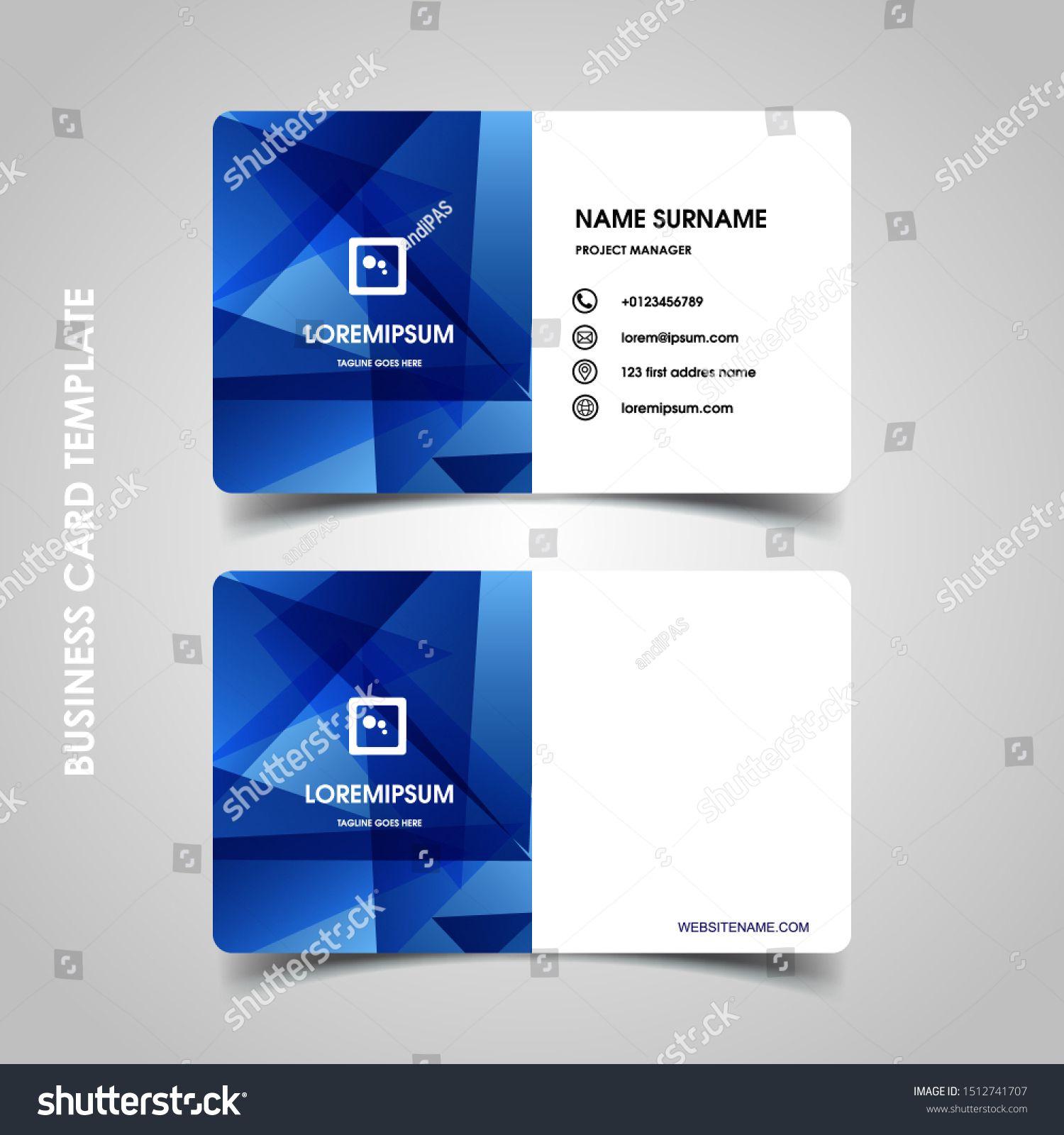 Modern Business Card Design Template Decoration Name Card Design Ad Ad Card Bu In 2020 Business Card Template Design Digital Design Trends Modern Business Cards