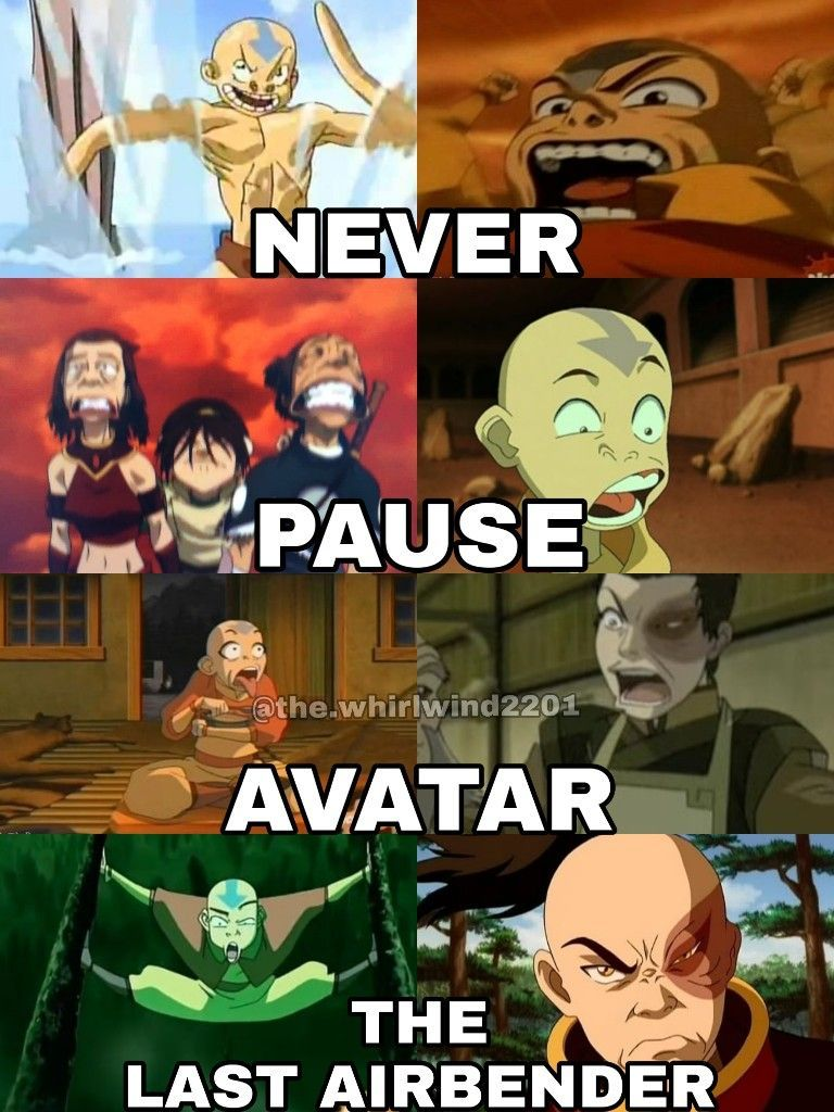 These Faces Are Impossible Avatar Airbender Avatar The Last