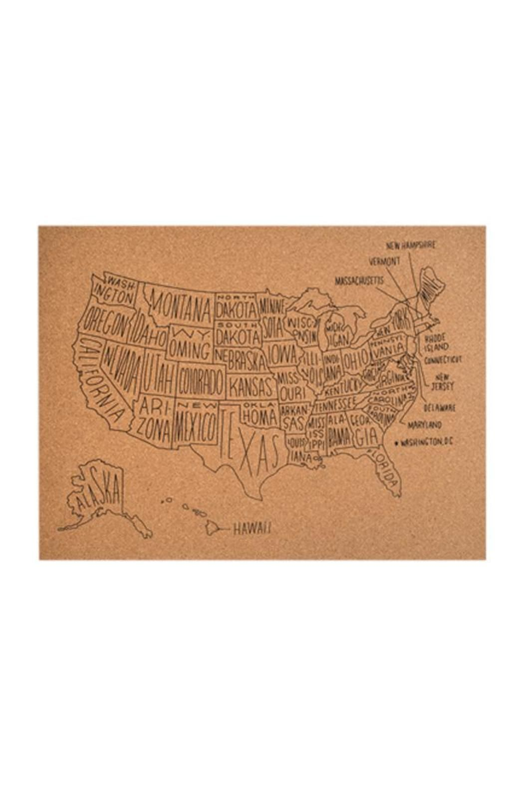 Easy Tiger Map Cork Board | Shoptiques Boutique Products | Pinterest ...