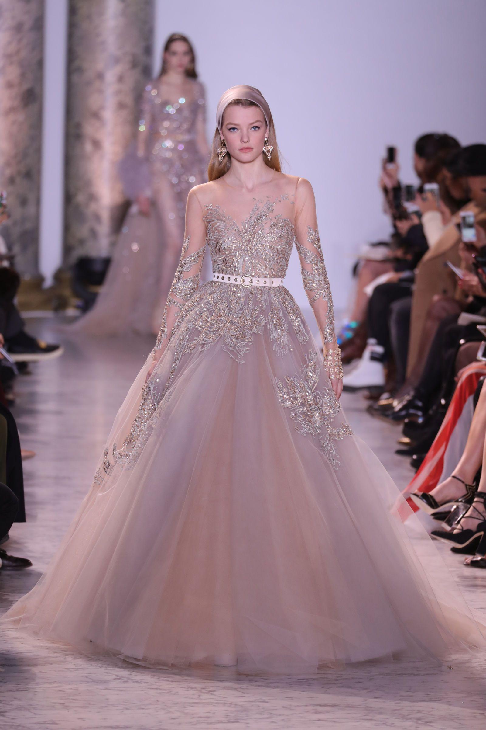 The most beautifully OTT wedding dresses from Paris Haute ...