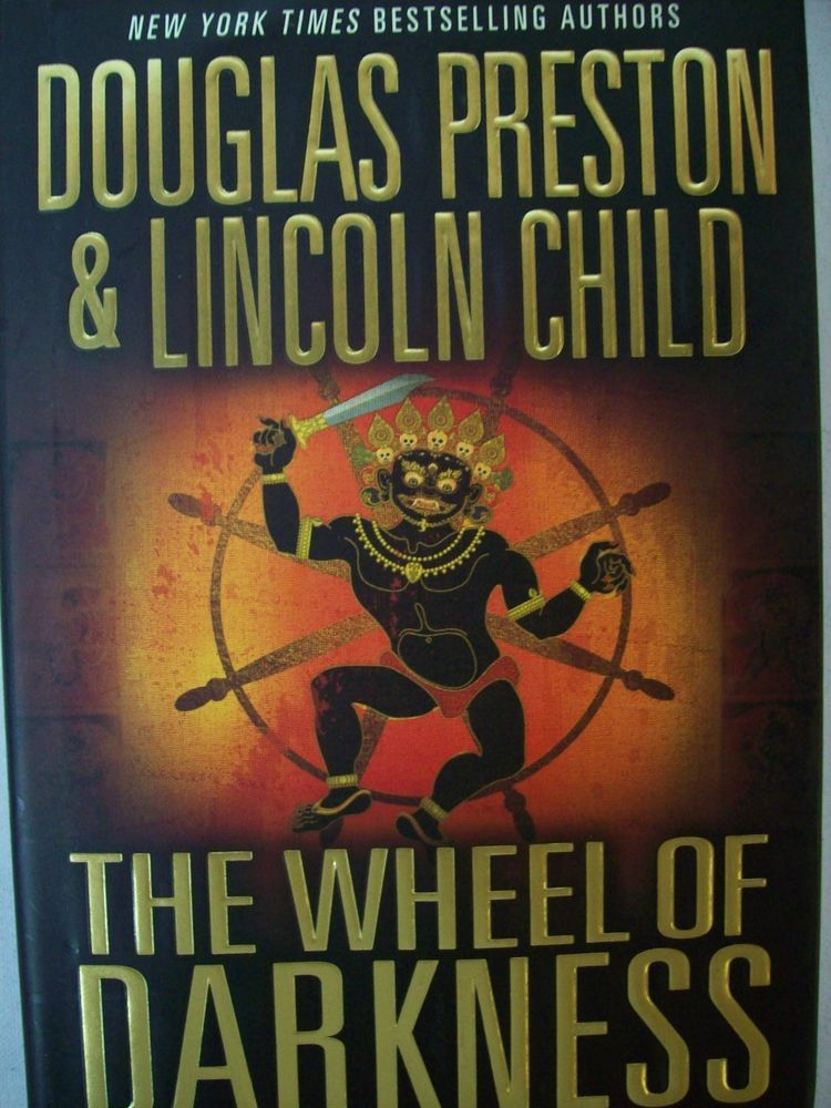 The Wheel of Darkness by Douglas Preston and Lincoln Child 2007 Hardcover. Accessorizing is very important for Your Personal Style! Island Heat Products http://stores.ebay.com/Island-Heat-Jeans today's clothing Fashions.