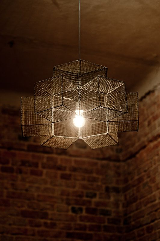 snowflake cage chandelier pendant light by herywalery on etsy