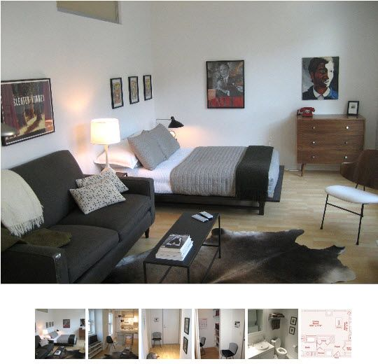 I Almost Wish My Apartment Were Studio After Seeing This Pic..scratch That,  · Apartment Furniture LayoutSmall ...