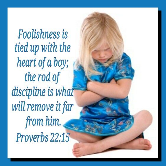 Proverbs 2215 Discipline Is Gentle Correction And Guidance