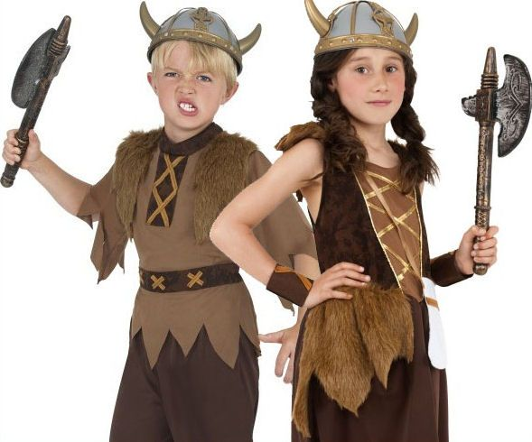 Viking Costume Kids School Book Week Day Girls Or Boys Fancy Dress Ages 7 To 12 | eBay  sc 1 st  Pinterest : kids viking costumes  - Germanpascual.Com