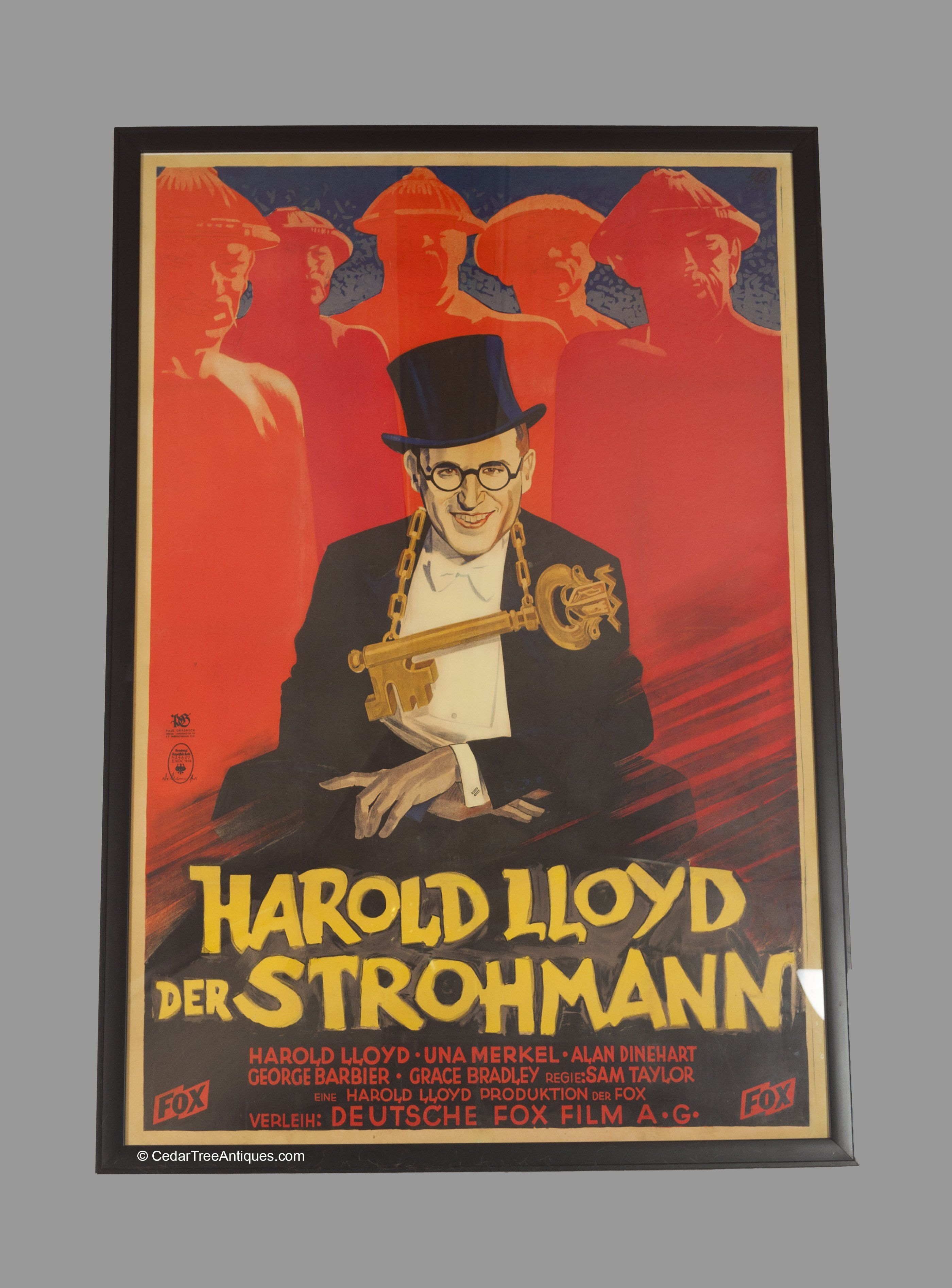 new products 85a57 ea439 DESCRIPTION: Harold Lloyd's film