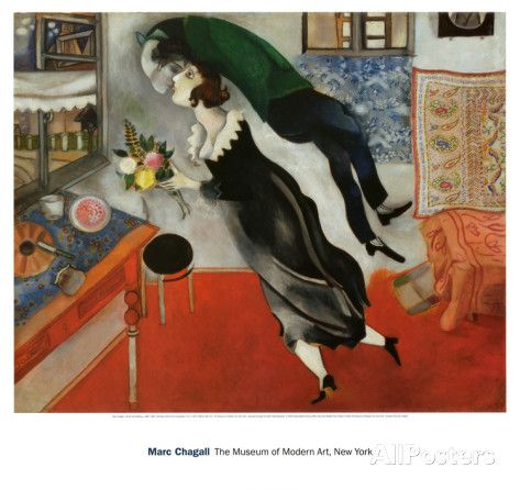 Birthday Poster by Marc Chagall - at AllPosters.com.au