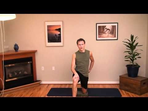 yoga for runners a stretch class for the it band with