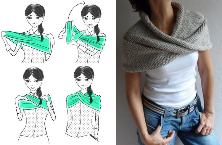 How To Wear An Infinity Scarf in Infinite Ways Infinity