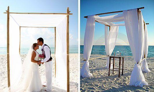 Do It Yourself Outdoor Wedding Ideas Outdoor Weddings Do: I Do It Yourself: Beach Wedding Arbor