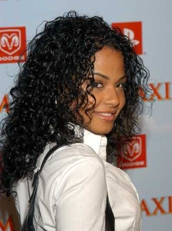 Christina Milian New Curly Short Hairstyles Pics How To