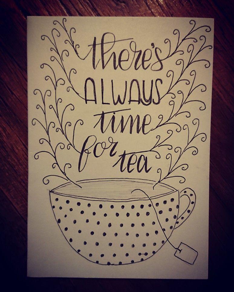 Magnifiek High tea uitnodiging #kaartje #hightea #tea #teatime #BF02
