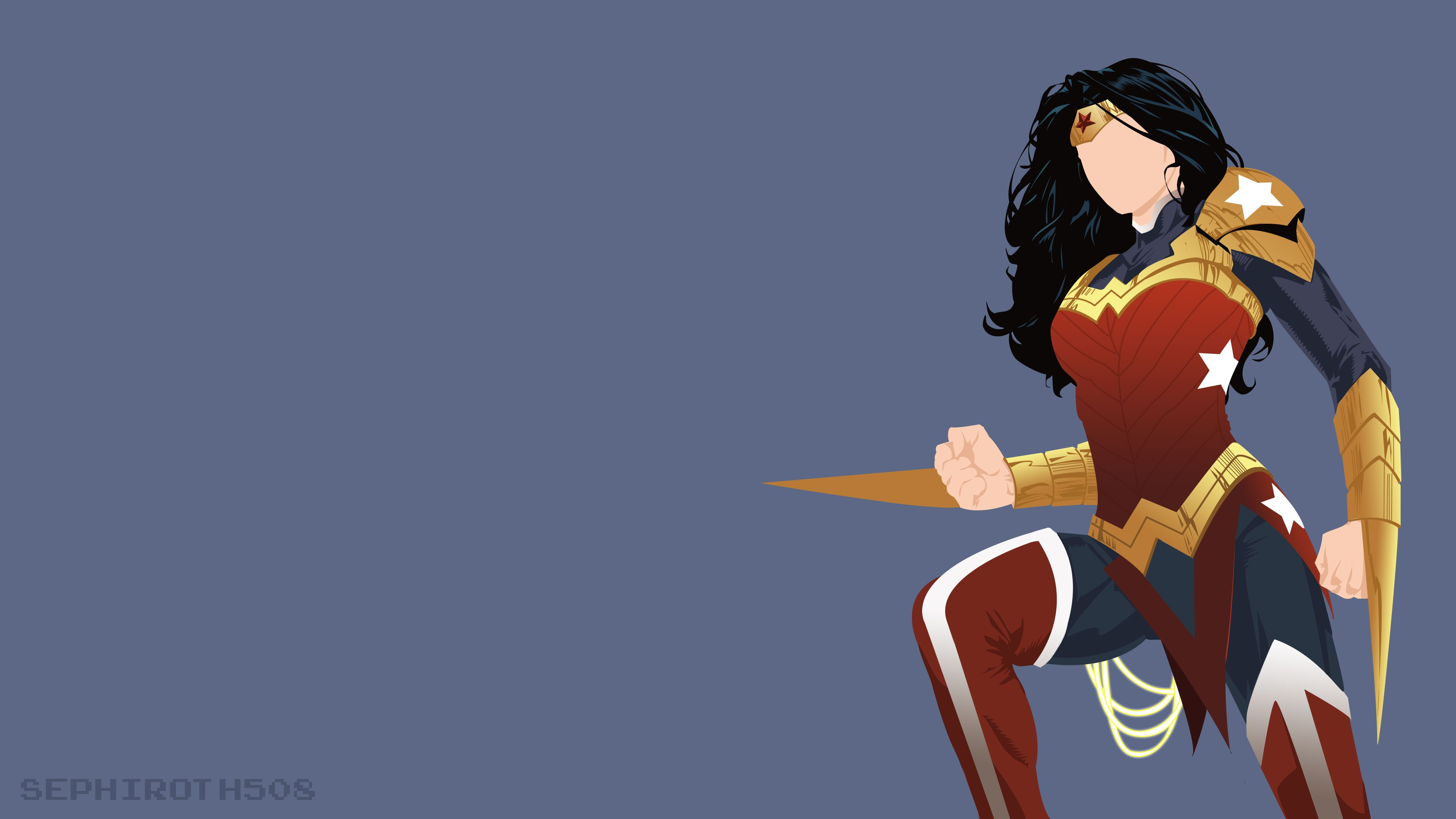 Wonder Woman Minimalist Wonder Woman Wallpapers Hd Wallpapers Deviantart Wallpapers Artwork Wall Pikachu Wallpaper Best Wallpaper Hd Background Hd Wallpaper