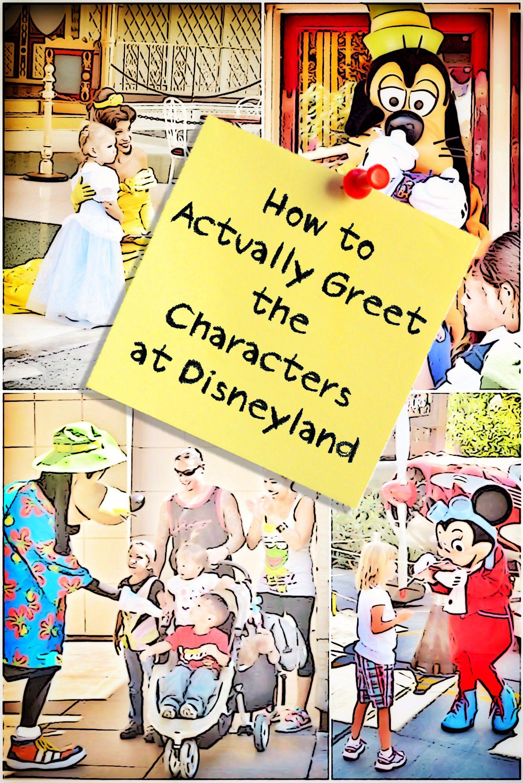 meet disney characters disneyland