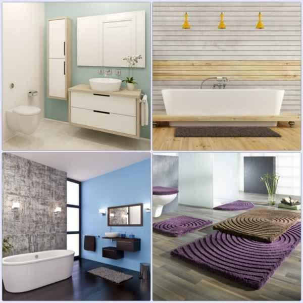 Badgestaltung Ideen für eine wohnliche Atmosphäre