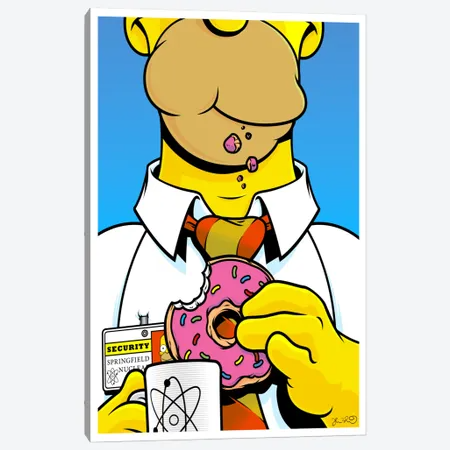 Homer Simpson - Canvas Print