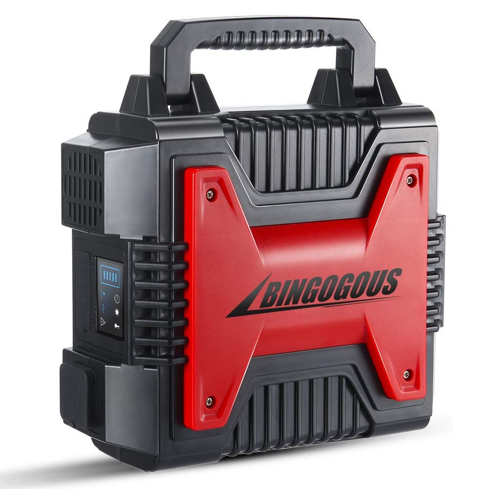 50 Off Bingogous Upgrade Portable Generator 296wh 300w Power Station With 110v Ac Outlet Dealsoftoda Portable Generator Power Station Portable Power Supply