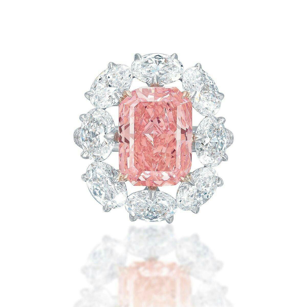 5.18ct vivid pink diamond | Diamonds | Pinterest | Diamond and Gems