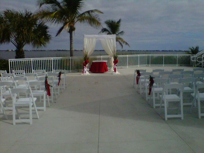 Mansion at Tuckahoe, Jensen Beach FL Wedding beach