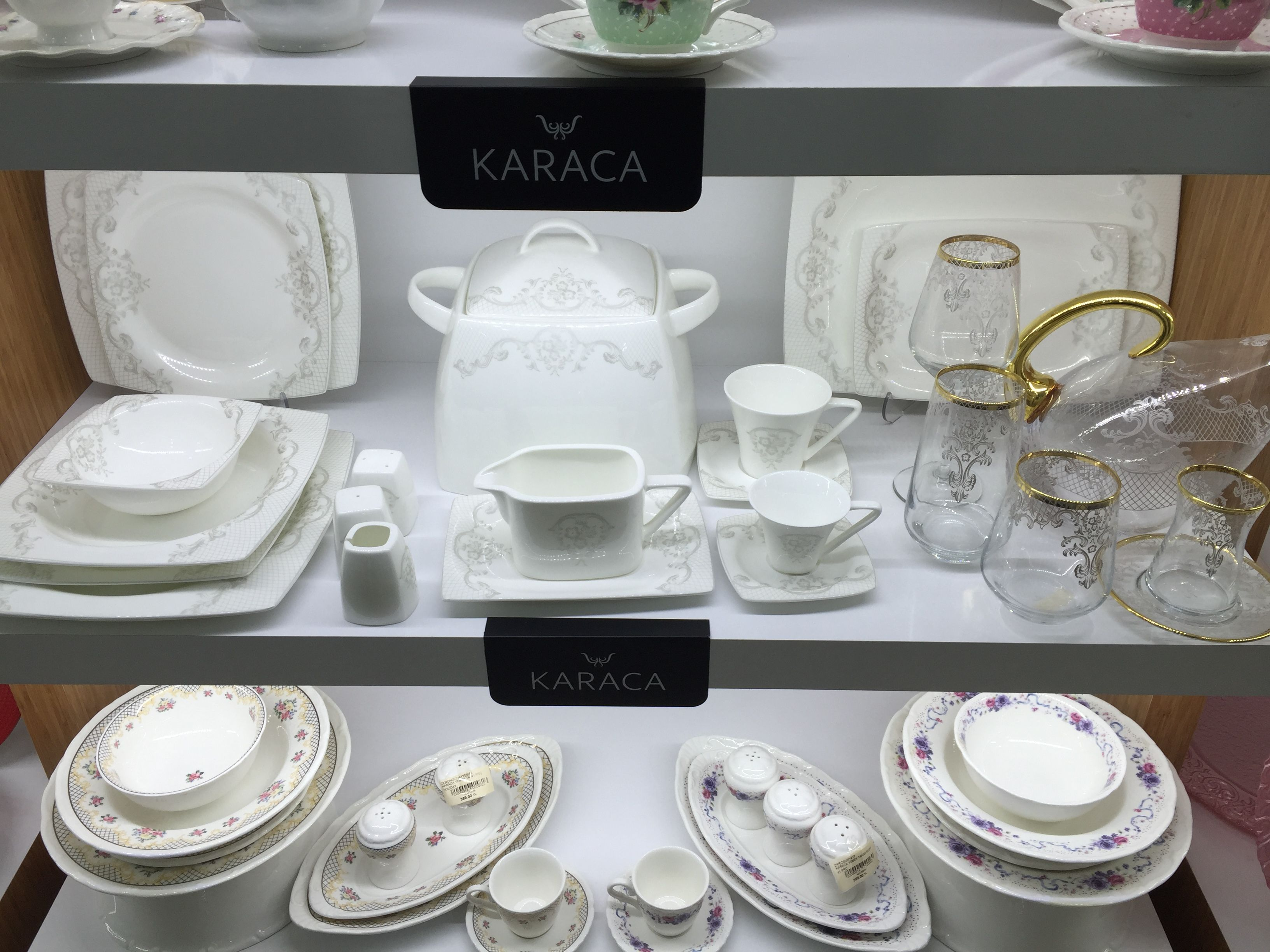 Karaca Kare Kahvaltı Takımı Modelleri 2019