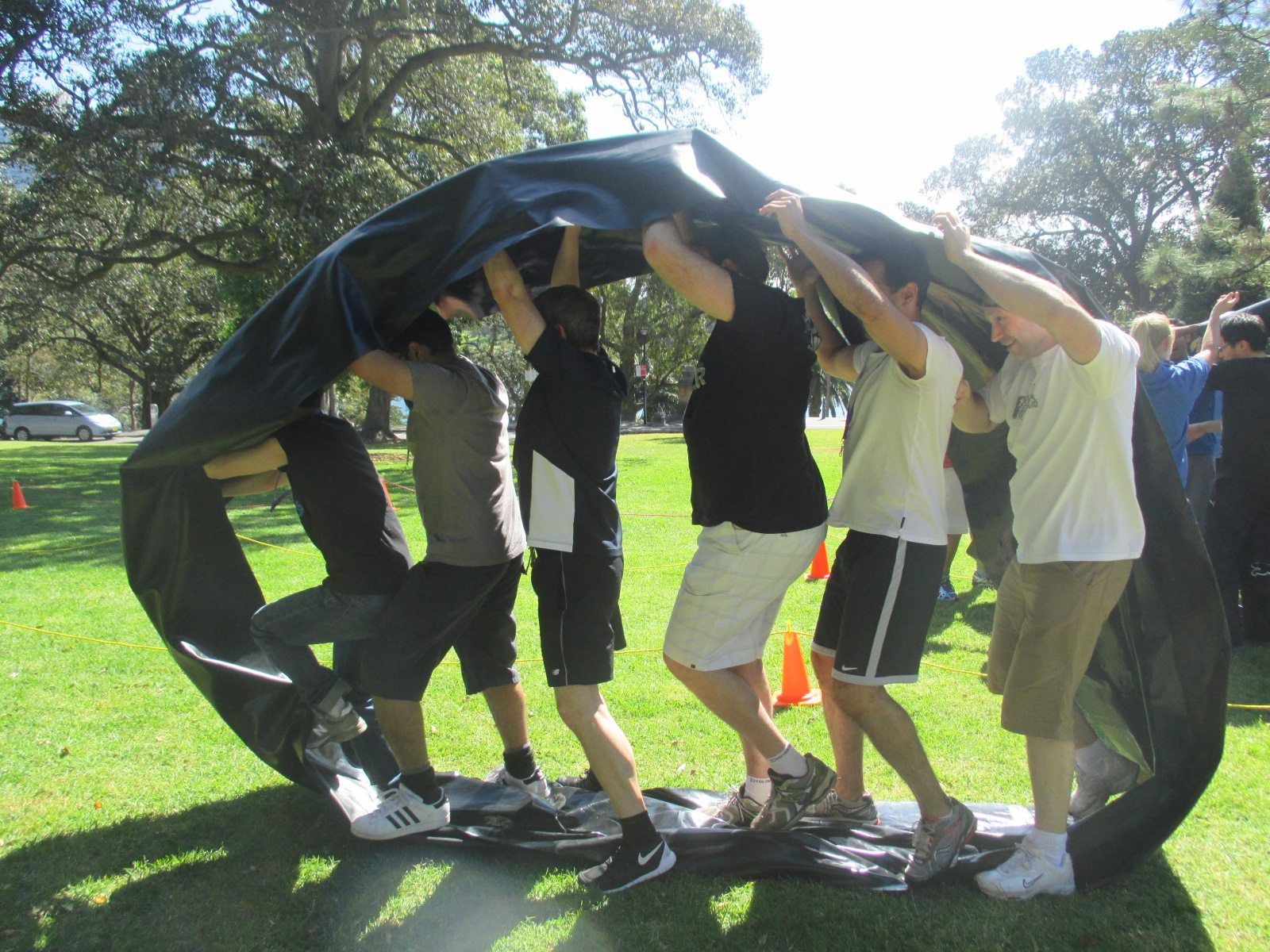 Outdoor Team Building Youth group games, Youth games