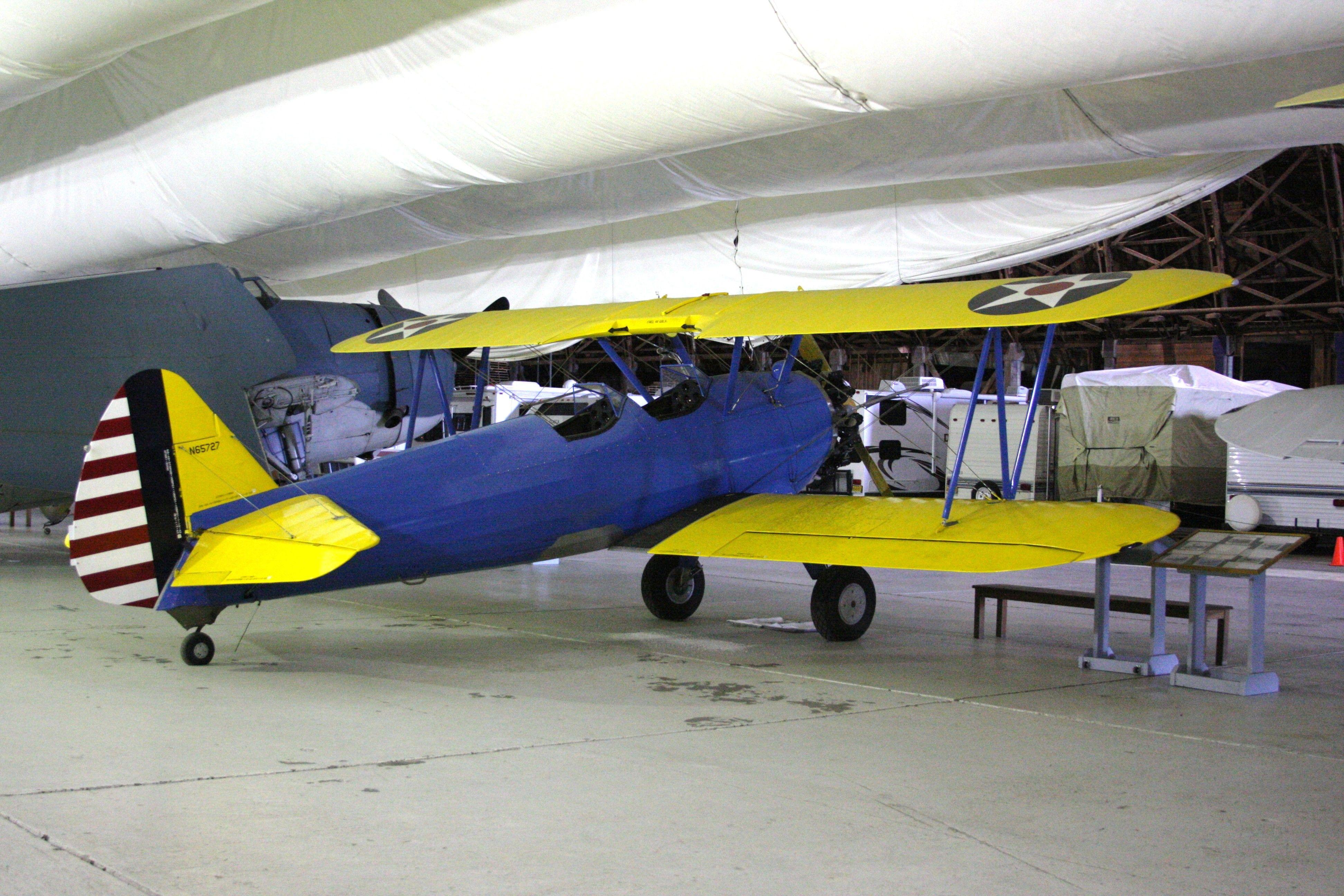 Tilamook Air Museum, OR. 02/2014. Tilamook, Oregon coast