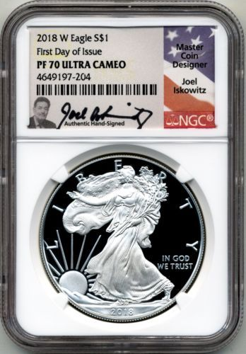 American Silver Eagle NGC MS70 FR Excl Eagle Label SKU55791 2019 1 oz