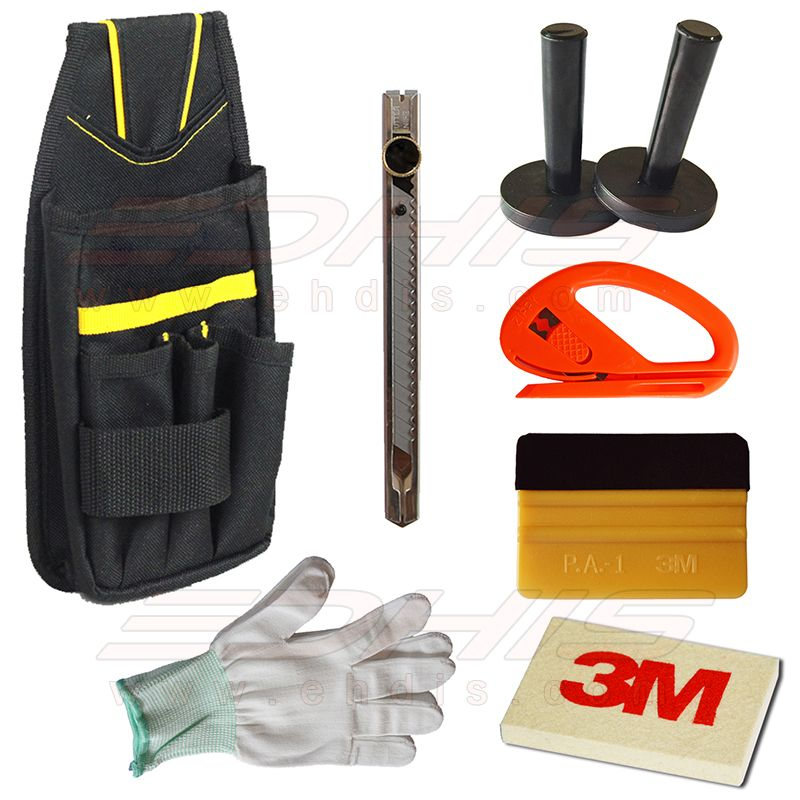 3m Felt Wrapped Gold Squeegee Snitty Cutter Wool Squeegee Cotton Glove Tool Bag Vehicle Van Applicator Installing Tool Kit At Tool Bag Vinyl Bag Fishing Gloves