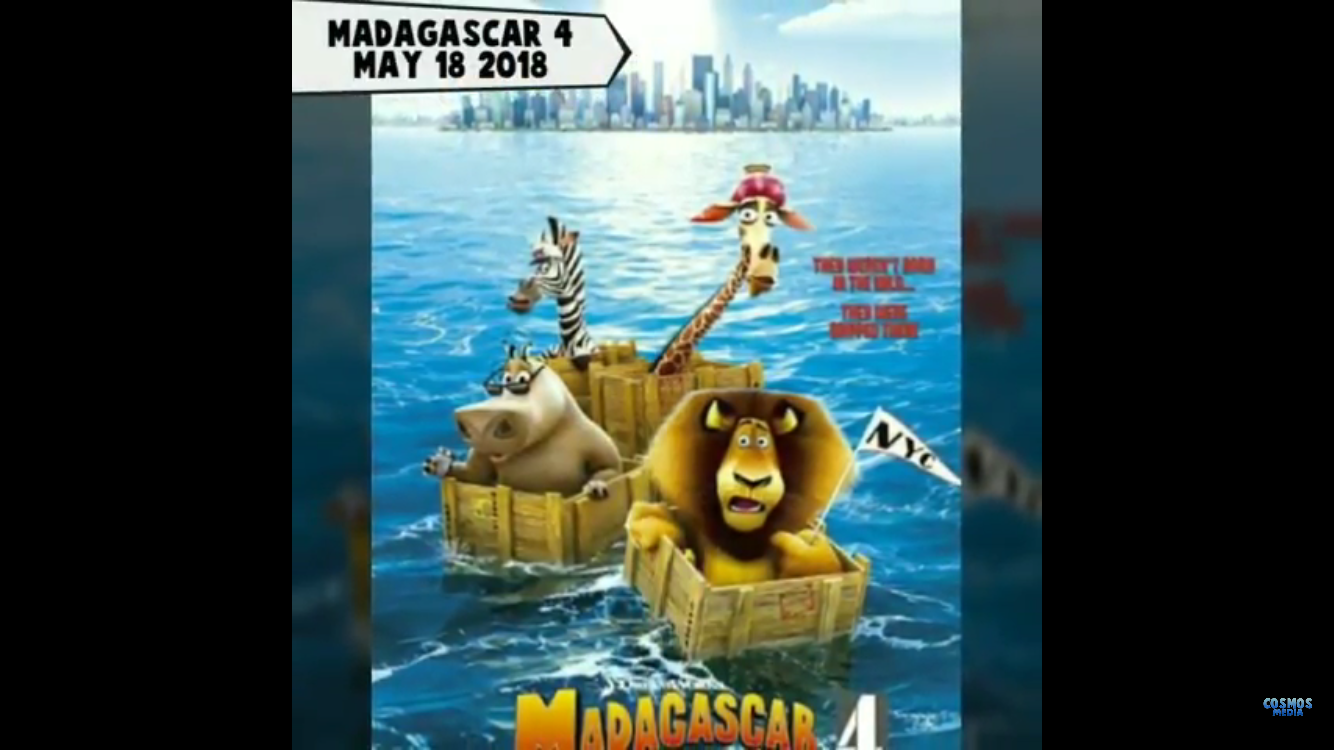 DreamWorks Madagascar 4 | Upcoming Kids Sequel Movies | Dreamworks