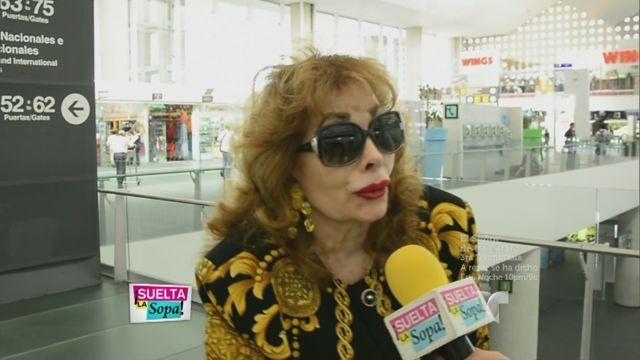 Itatí Cantoral madre, defiende a su hija y asegura que no es alcohólica (VIDEO)