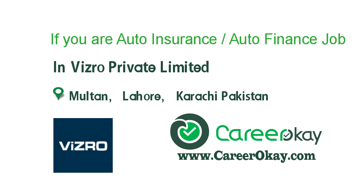 If You Are Auto Insurance Auto Finance Person Https Www