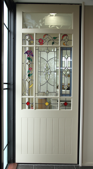 From the Hoults Doors showroom our s&le leadlight door shows the variety and beauty of & From the Hoults Doors showroom our sample leadlight door shows the ...