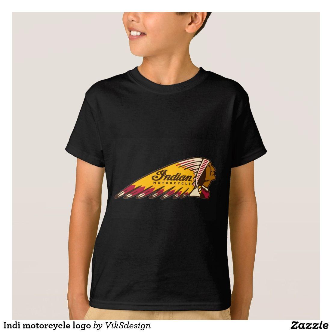 Indi motorcycle logo shirt