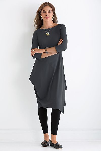 Forum+Dress+-+Solid by Porto: Knit+Dress available at www.artfulhome.com