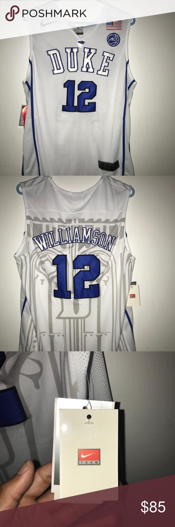 new concept 4fc7c 44372 Authentic NCAA Duke Zion Williamson Jersey Duke Blue Devils ...