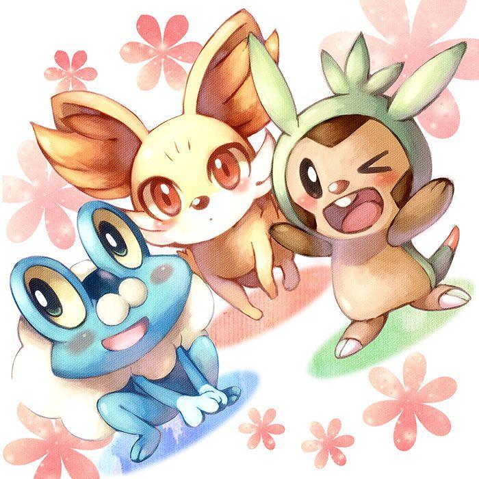 Pokemon X & Y fanart by miya ayuco