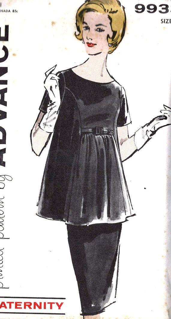 1960s Misses Maternity Two Piece Dress | Damen - Women Outfits ...