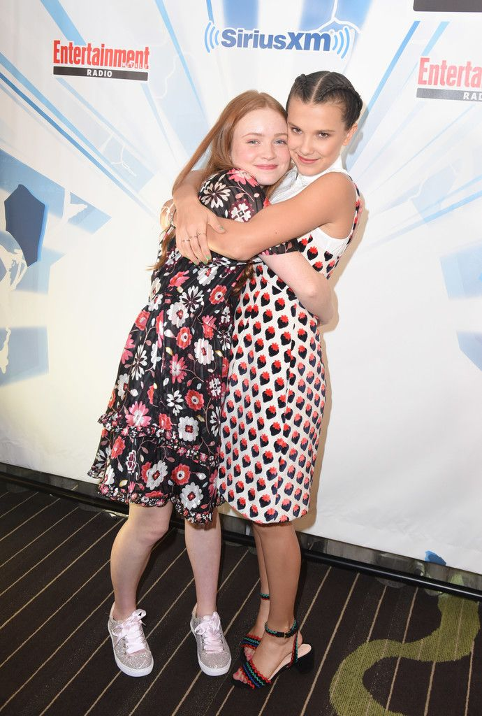 Millie Bobby Brown Photos Photos: SiriusXMs Entertainment Weekly Radio Channel Broadcasts From Comic Con 2017 – Day 3