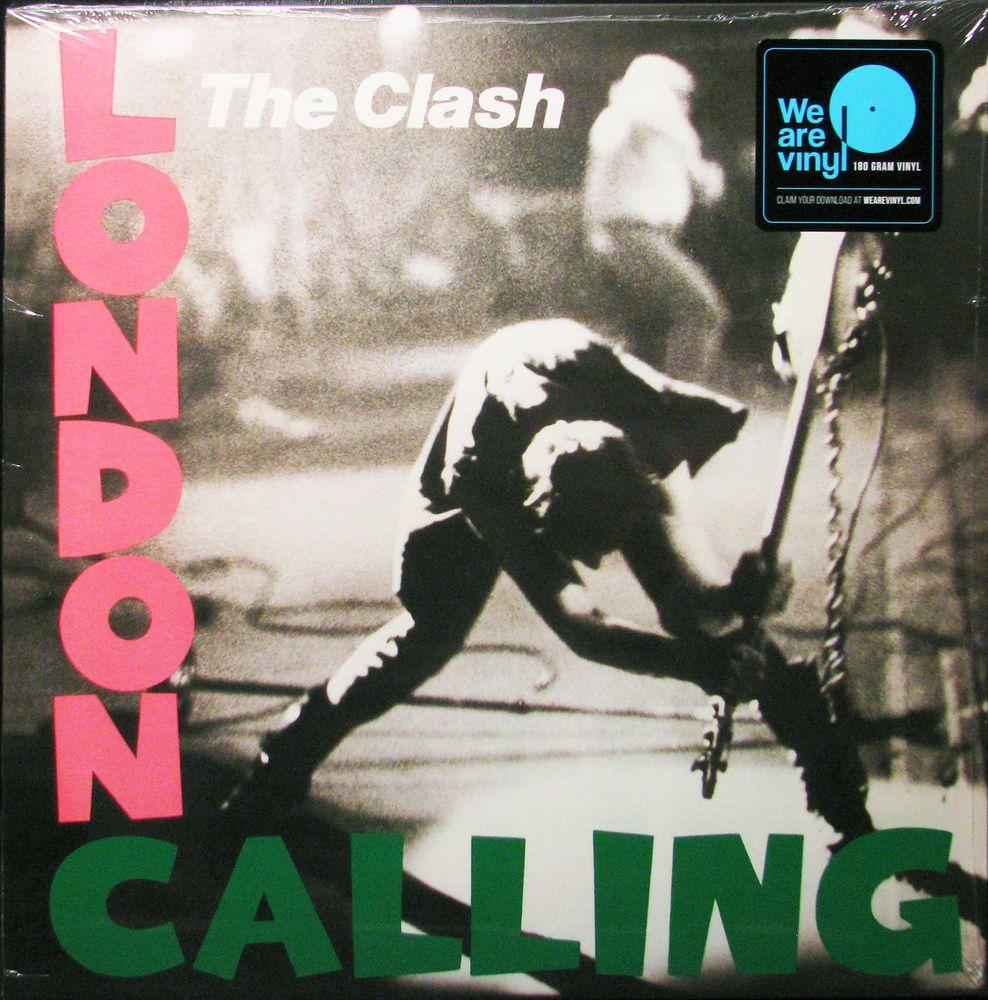 The Clash London Calling 180 Gram Current Pressing Lp Vinyl Record Album The Clash London Calling The Clash Vinyl Record Album