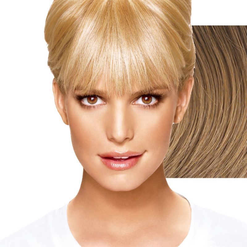 Jessica Simpson Ken Paves Hair Extensions Clip In Bangs Hairdo All