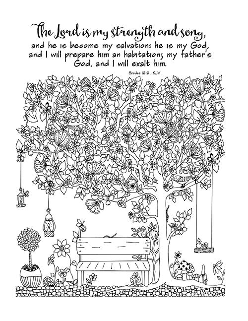 Exodus Bible Study Week 3 Part 1 Bible Verse Coloring Page Bible Verse Coloring Christian Coloring
