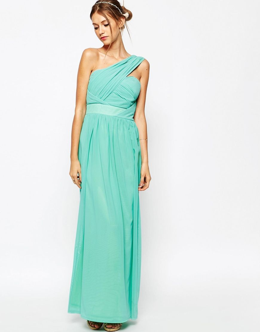 TFNC Maxi Dress With One Shoulder Detail | Tfnc